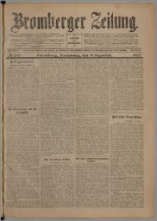 Bromberger Zeitung, 1907, nr 297