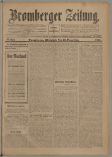 Bromberger Zeitung, 1907, nr 302