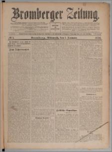Bromberger Zeitung, 1908, nr 1