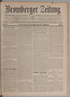 Bromberger Zeitung, 1908, nr 10