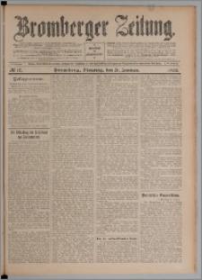 Bromberger Zeitung, 1908, nr 17