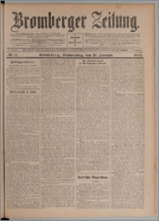 Bromberger Zeitung, 1908, nr 19