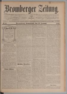 Bromberger Zeitung, 1908, nr 21
