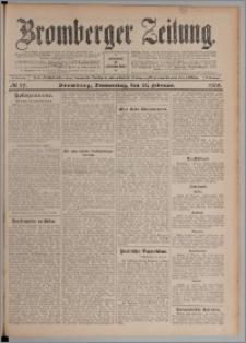 Bromberger Zeitung, 1908, nr 37