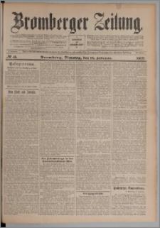 Bromberger Zeitung, 1908, nr 41