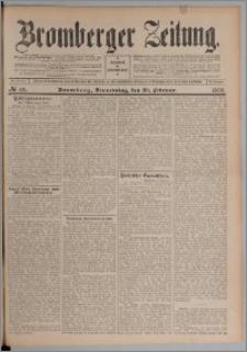 Bromberger Zeitung, 1908, nr 43