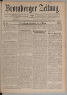 Bromberger Zeitung, 1908, nr 52