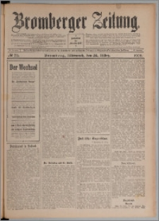Bromberger Zeitung, 1908, nr 72