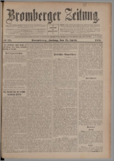 Bromberger Zeitung, 1908, nr 92