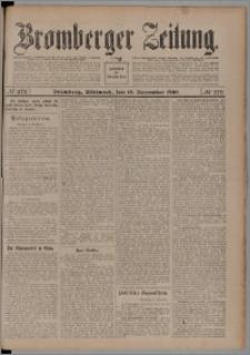 Bromberger Zeitung, 1908, nr 272