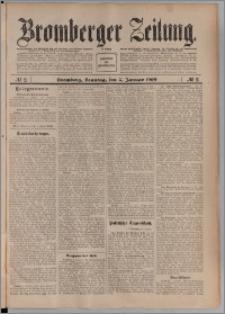 Bromberger Zeitung, 1909, nr 2