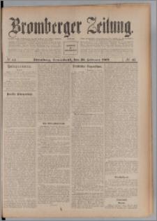 Bromberger Zeitung, 1909, nr 43