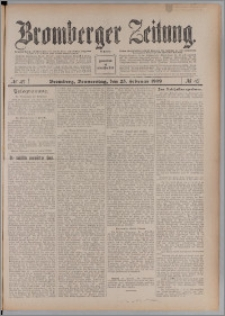 Bromberger Zeitung, 1909, nr 47