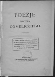 Poezje W. Gomulickiego