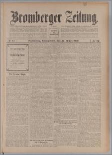 Bromberger Zeitung, 1909, nr 73