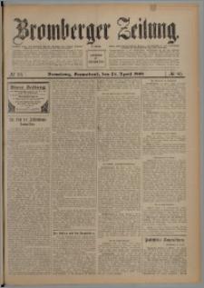 Bromberger Zeitung, 1909, nr 95