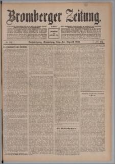 Bromberger Zeitung, 1910, nr 95