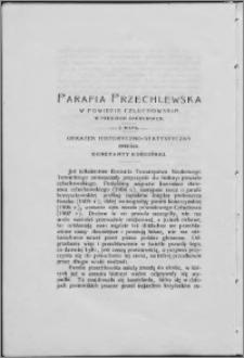 Parafia przechlewska w powiecie człuchowskim w Prusiech Zachodnich : obrazek historyczno-statystyczny