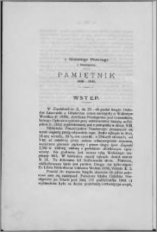 Pamiętnik 1806-1810
