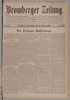 Bromberger Zeitung, 1910, nr 196