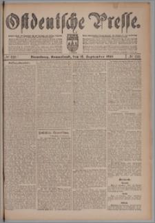 Bromberger Zeitung, 1910, nr 218