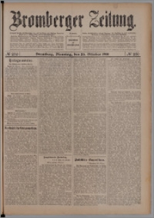 Bromberger Zeitung, 1910, nr 250