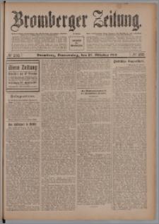 Bromberger Zeitung, 1910, nr 252