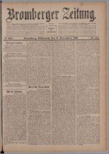 Bromberger Zeitung, 1910, nr 263