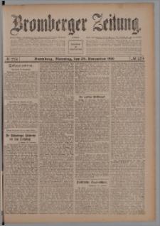 Bromberger Zeitung, 1910, nr 279