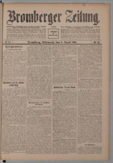 Bromberger Zeitung, 1911, nr 81