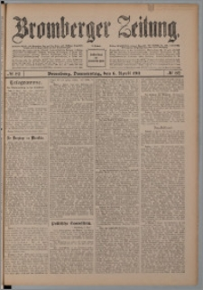 Bromberger Zeitung, 1911, nr 82