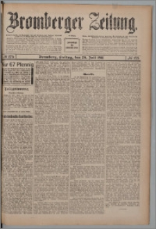 Bromberger Zeitung, 1911, nr 175