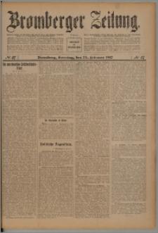Bromberger Zeitung, 1912, nr 47
