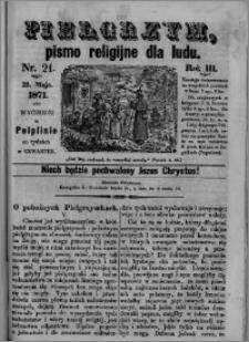Pielgrzym, pismo religijne dla ludu 1871 nr 21