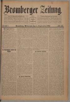 Bromberger Zeitung, 1912, nr 207
