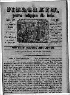 Pielgrzym, pismo religijne dla ludu 1871 nr 22