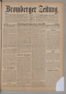 Bromberger Zeitung, 1913, nr 52