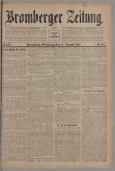 Bromberger Zeitung, 1913, nr 187