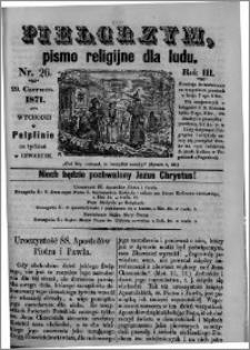 Pielgrzym, pismo religijne dla ludu 1871 nr 26