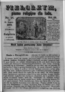 Pielgrzym, pismo religijne dla ludu 1871 nr 28