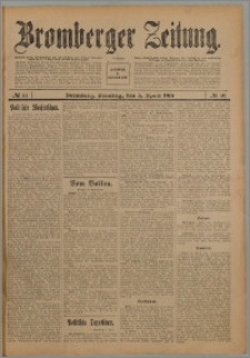 Bromberger Zeitung, 1914, nr 81