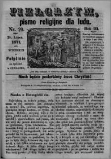 Pielgrzym, pismo religijne dla ludu 1871 nr 29