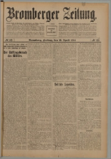 Bromberger Zeitung, 1914, nr 85