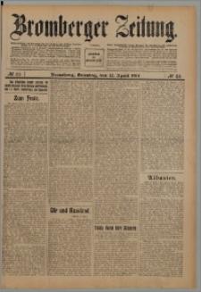Bromberger Zeitung, 1914, nr 86