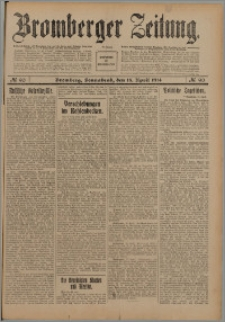 Bromberger Zeitung, 1914, nr 90