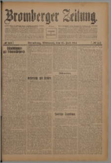 Bromberger Zeitung, 1914, nr 163