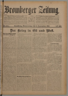 Bromberger Zeitung, 1914, nr 206