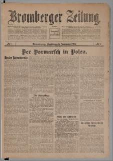 Bromberger Zeitung, 1915, nr 1
