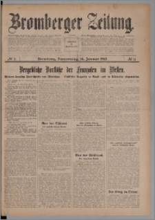 Bromberger Zeitung, 1915, nr 11