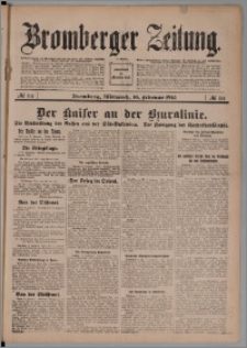 Bromberger Zeitung, 1915, nr 34